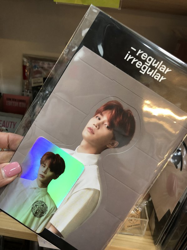 Nct regular hologram card