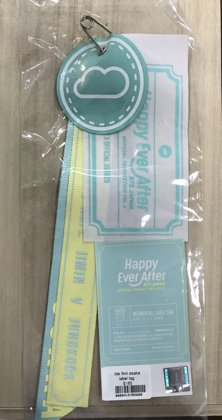Happy ever after japan label tag $165