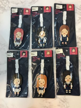 TWICE LUGGAGE TAG