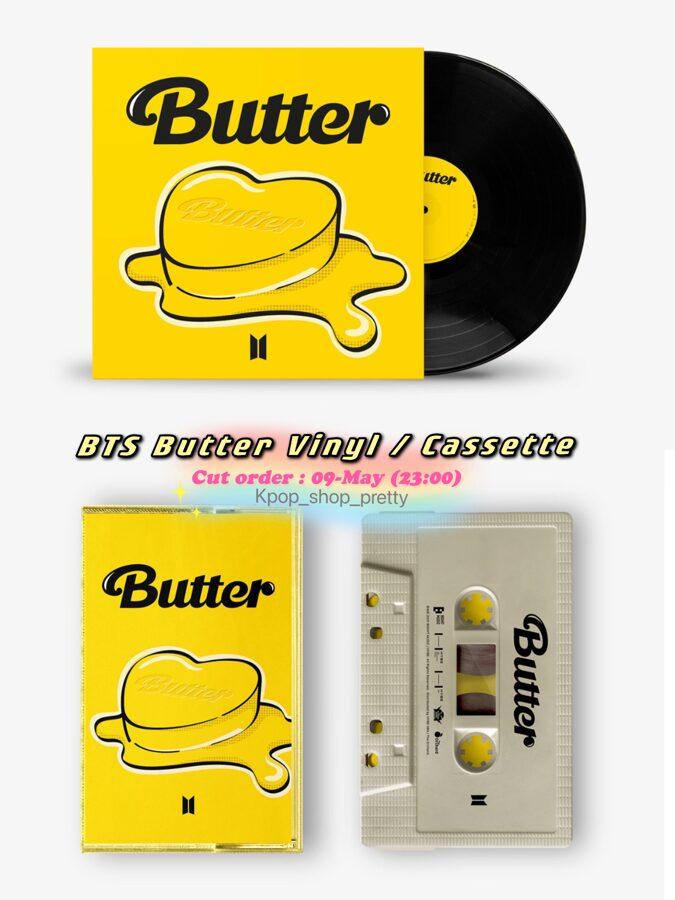 BTS butter Vinyl  / Cassette