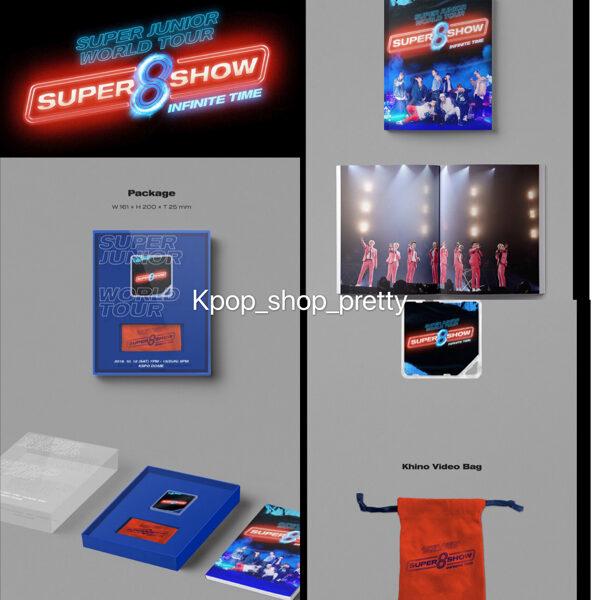 Super junior Super show 8 Kihno $320 (現貨)