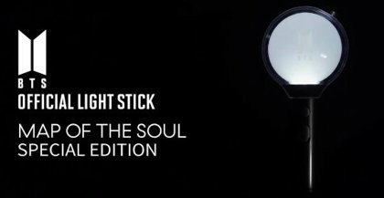 BTS map of soul sp light stick $400