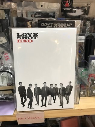 love shot postcard set