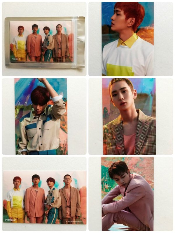 SHINee THE STORY OF LIGHT 4X6 PHOTO SET